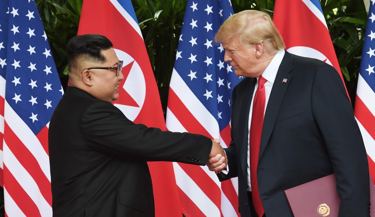 特朗普與金正恩將於本月27及28日進行第二次會面。