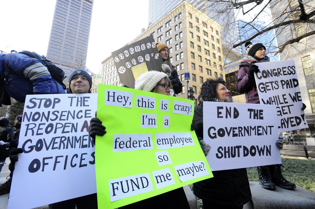 美國出現史上最長的政府停擺,影響遠較預期嚴重。