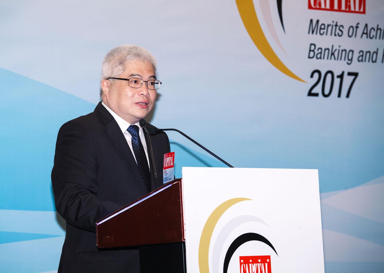 《資本雜誌》副總編輯李樹明先生致歡迎辭,分享是次典禮的意義。