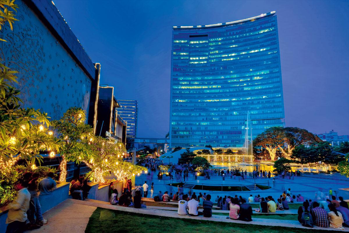 班加羅爾是印度科技創業中心。