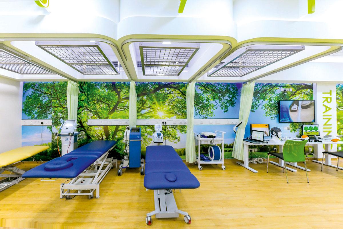 東華三院何超蕸綜合復康中心。