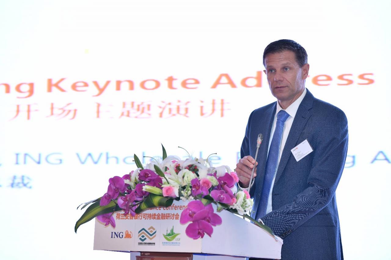 ING商業銀行亞太區行政總裁孫和瑞表示:「中國在發展綠色債券領域上的進展舉世矚目,新政策如『一帶一路』的綠化投資等爲企業開拓了新的發展機遇。」