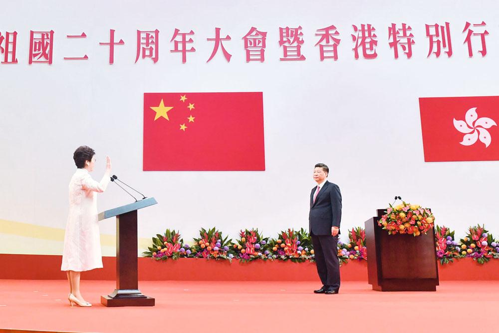 林鄭班子勢必成為回歸以來政績最彪炳的一屆政府。