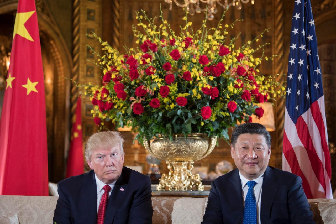 特朗普與習近平各不相讓,令貿易戰全面開打。