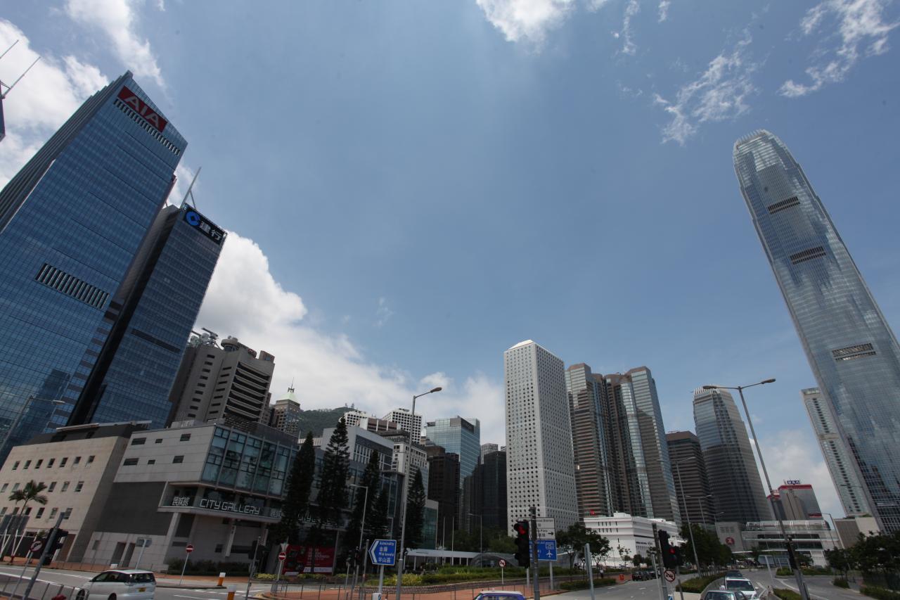 減租潮已殺到中環甲級商廈。