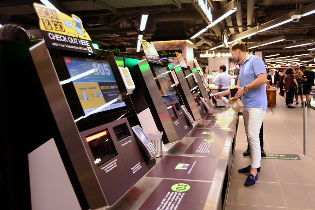 屈臣氏已在不少分店推出無人收銀服務,並會繼續擴充。