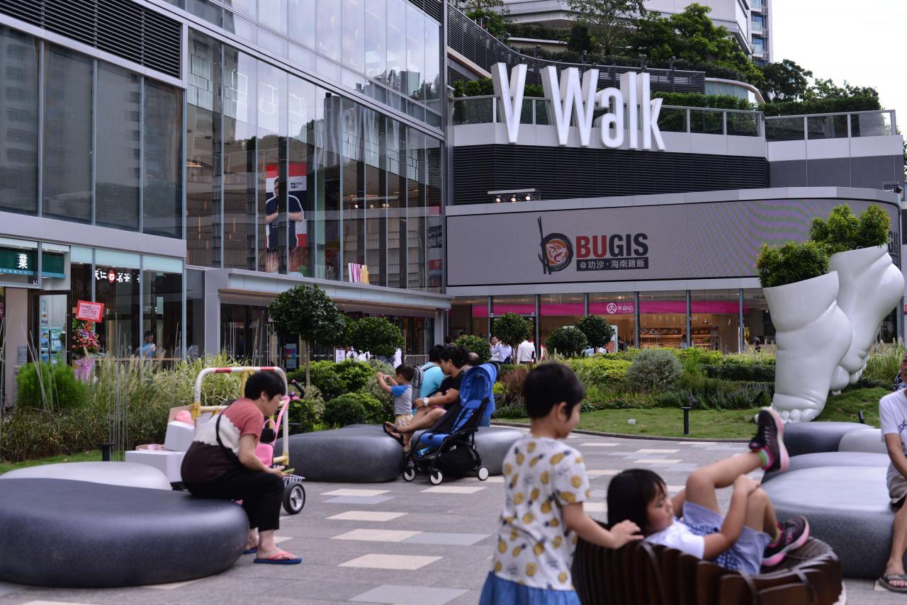 佔地約30萬平方呎的V Walk已經開業。