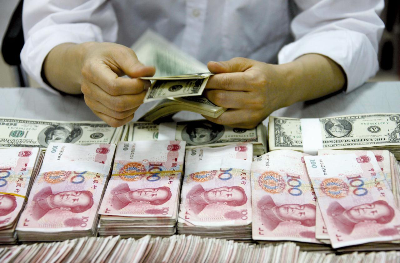 人民銀行不再堅守人民幣兌美元匯率於七以下水平。