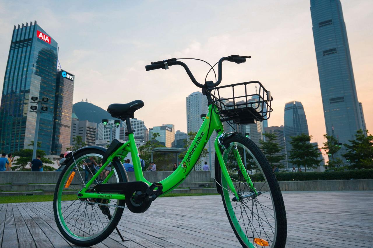 gobee.bike進駐香港不夠十五個月就要敗走。