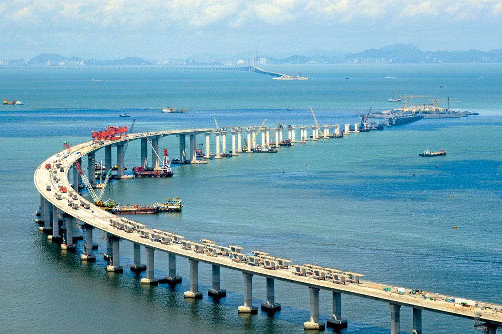 港珠澳大橋通車後,將為中港融合帶來新局面。