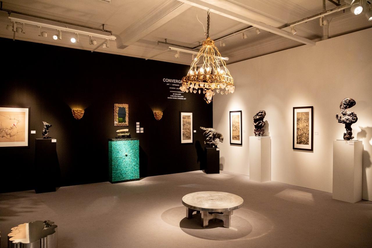 由潔思園畫廊、Maria Kiang Chinese Art及88藝廊 (88 Gallery) 共同策劃的的展覽「合流」。