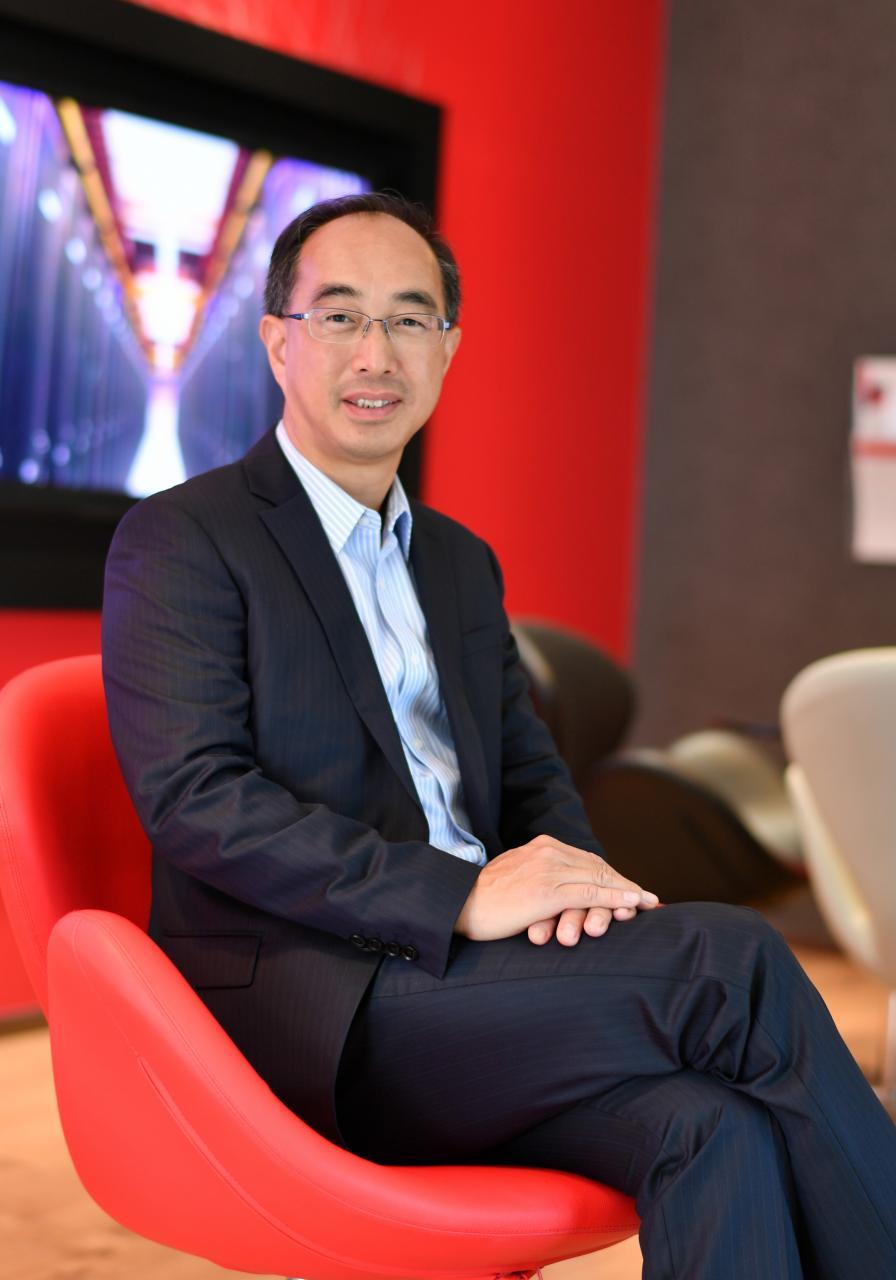 Equinix 香港區董事總經理譚永耀