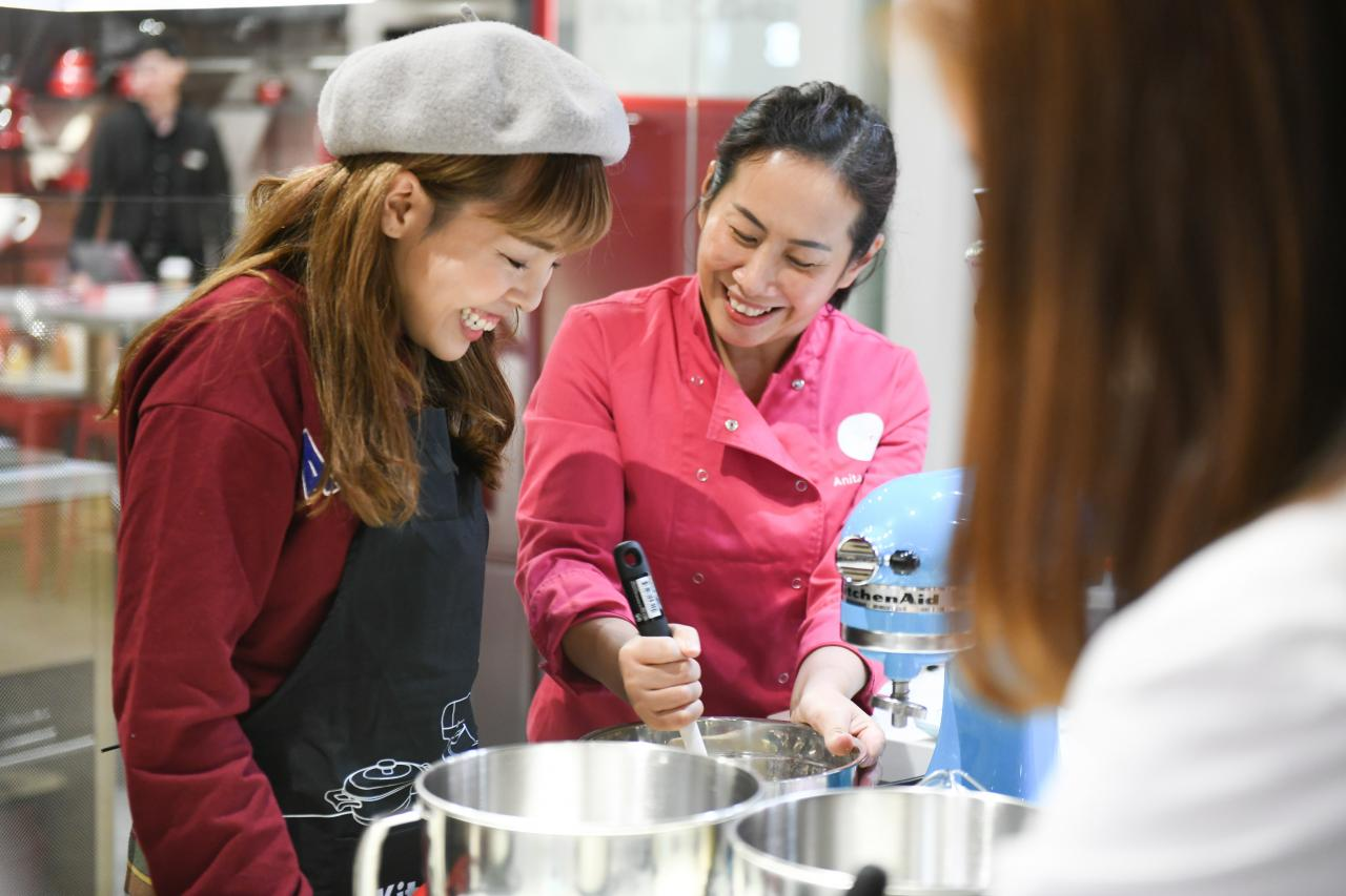 Anita表示馬卡龍食譜的調料份量略有調教,味道不會過甜。