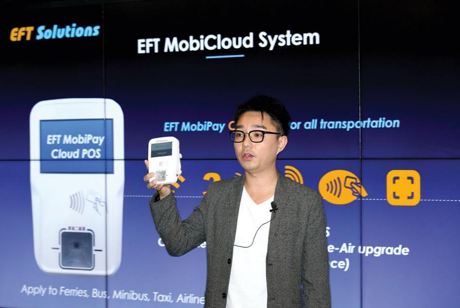 EFT創辦人及行政總裁勞俊傑。