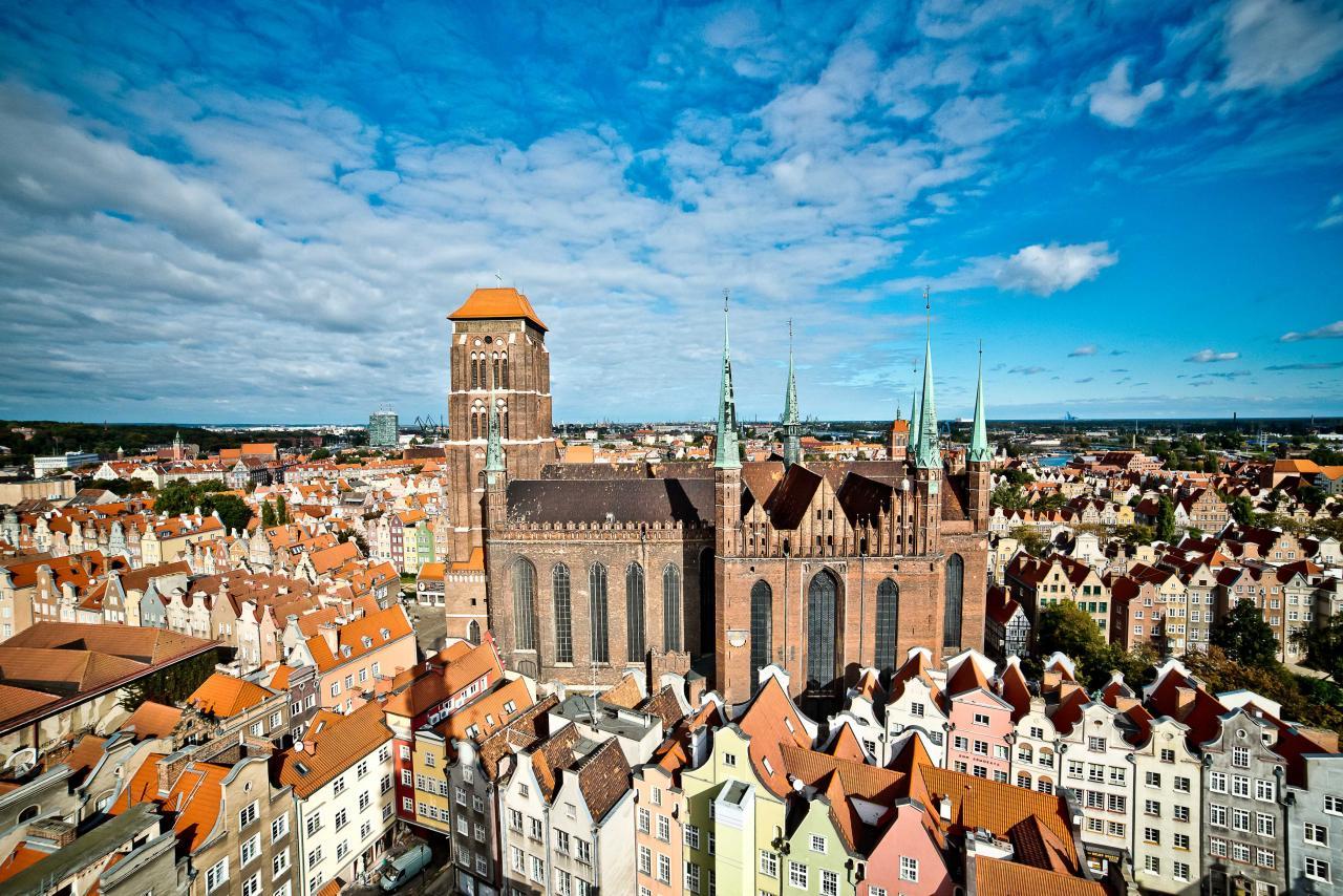 提起波蘭,那裡的景色綺麗,素以歷史建築物聞名於世。(攝影:Pomeranian Regional Tourist Organization)