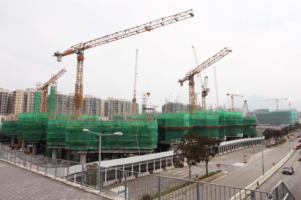 今年白石角有4個新盤,連同中國海外的荔枝山項目,合共提供5,293伙。