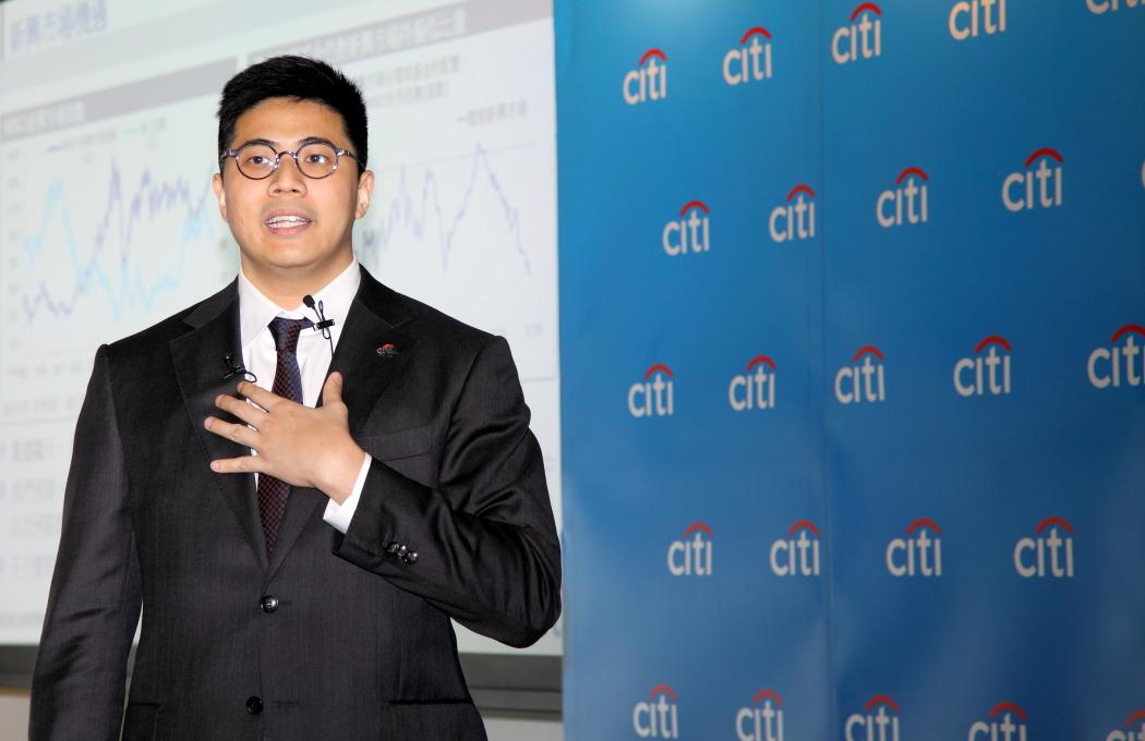 花旗銀行投資策略及組合管理部主管黃栢寧。