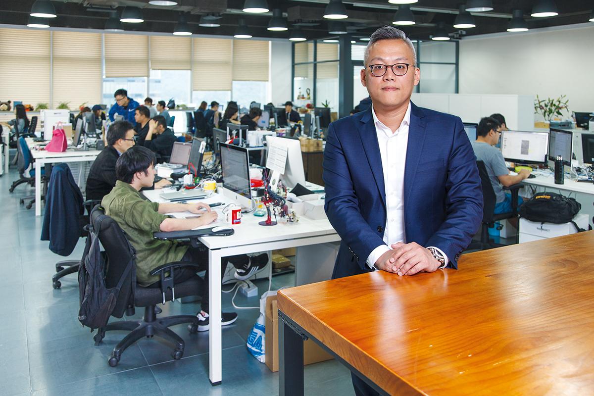 林永傑對這個平台業務發展充滿信心。