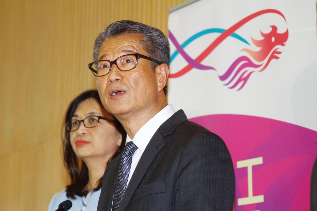 陳茂波指香港有足夠經驗應付挑戰。