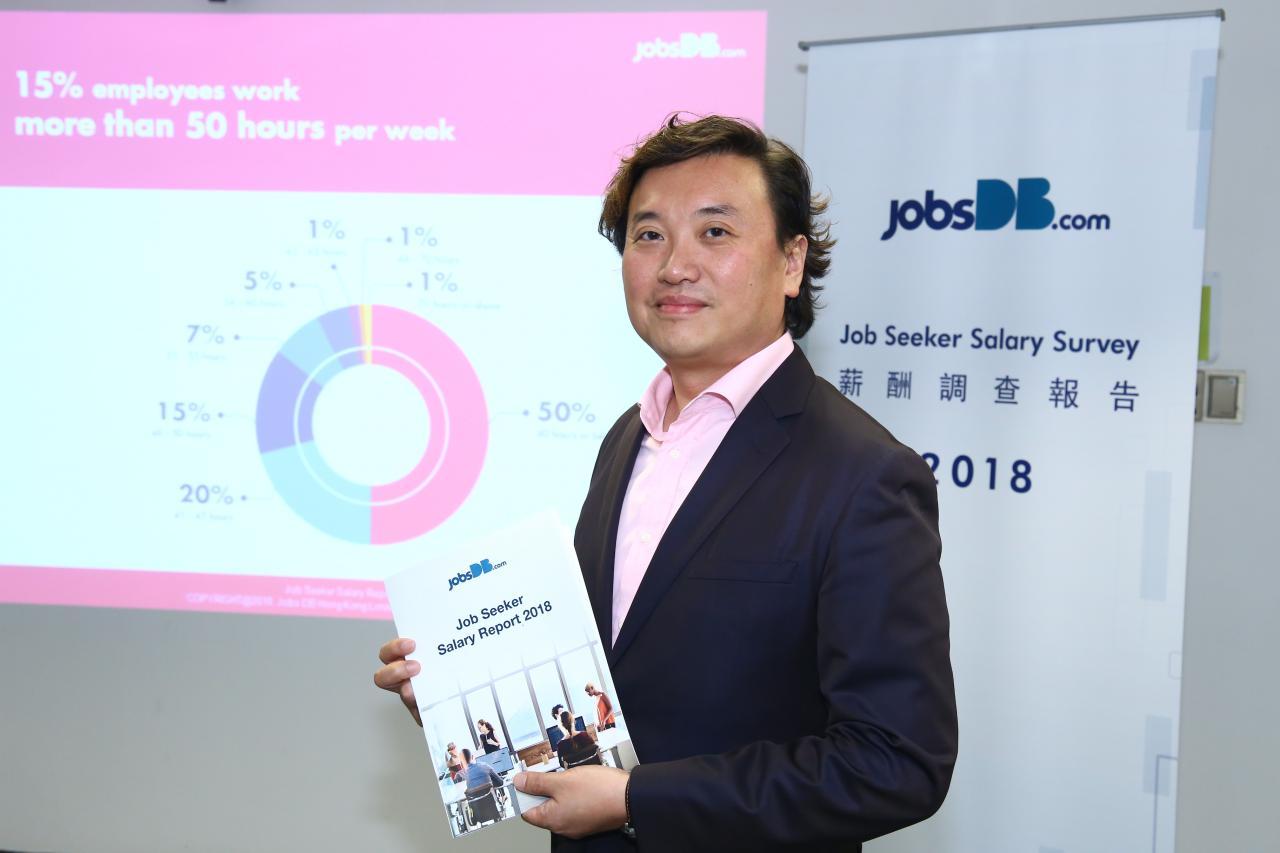 jobsDB香港區行政總裁仇崑石表示,在表面講求實質效率和生產力的香港社會,仍有近兩成人以瘋狂加班及積極參與公司活動作為爭取升職的手段,可見不少打工仔深信為公司付出更多時間、表現忠心才是升職的「潛規則」。
