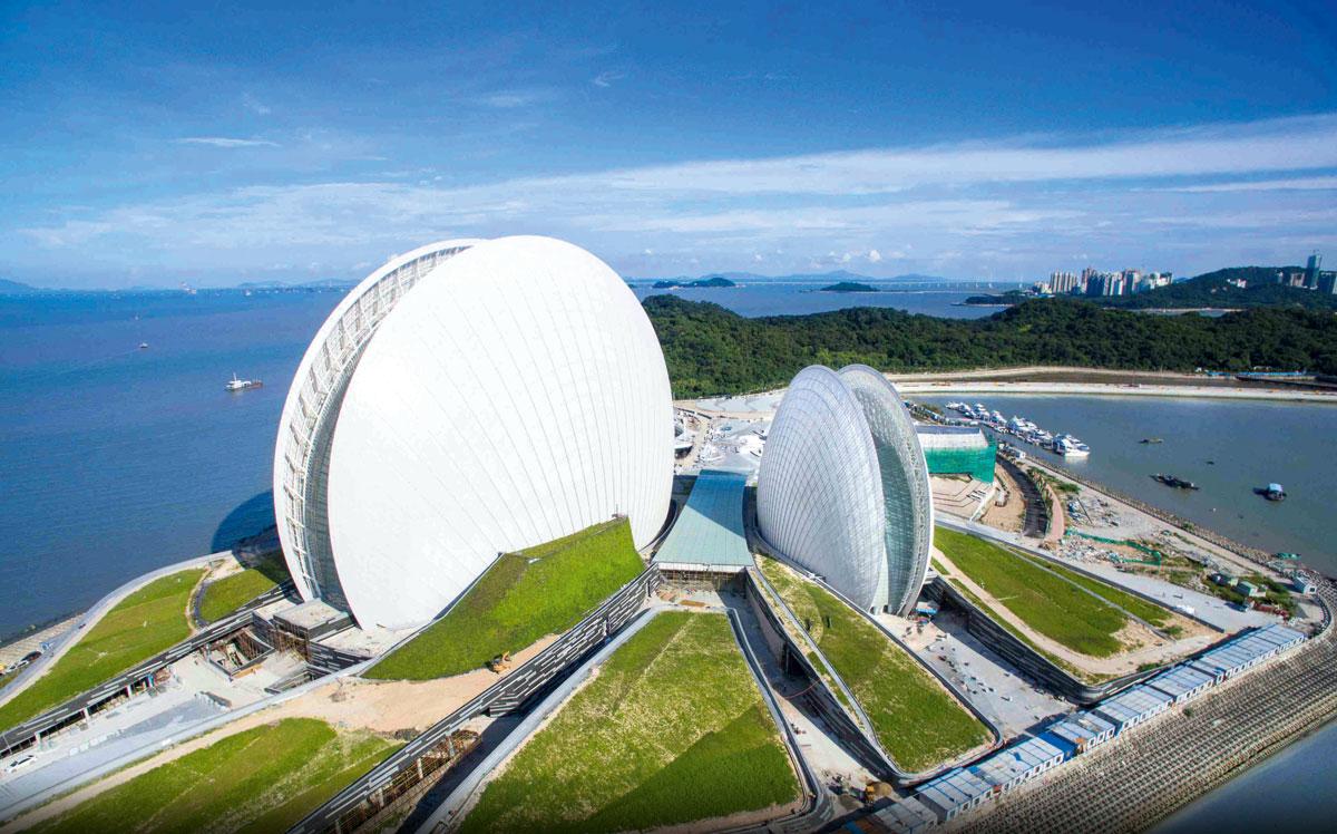 珠海擁有珠三角最長的海岸線。