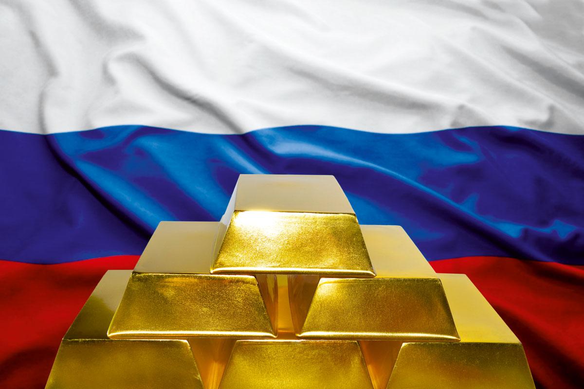 俄羅斯大舉增持黃金,是想擺脫對美元的依賴。