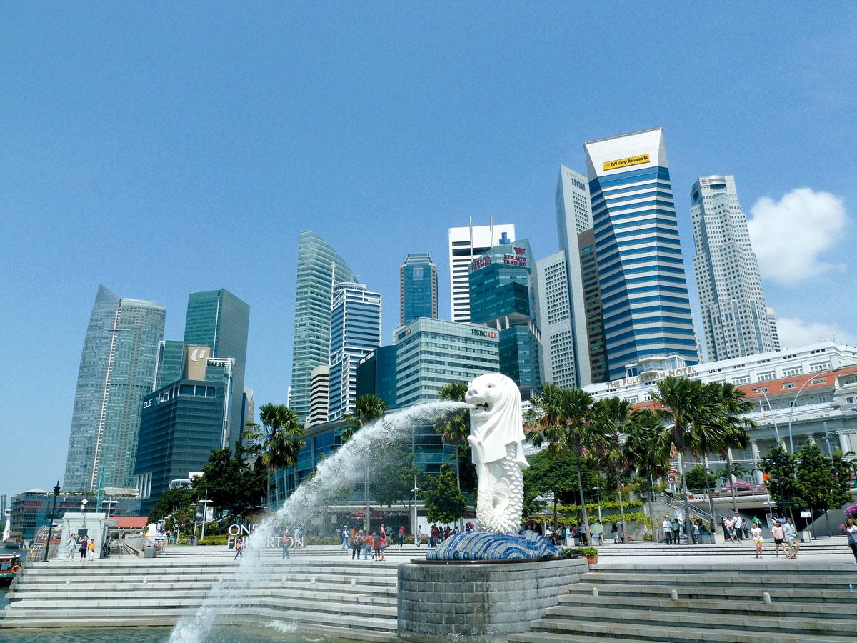 新加坡是東盟中最發達的國家。