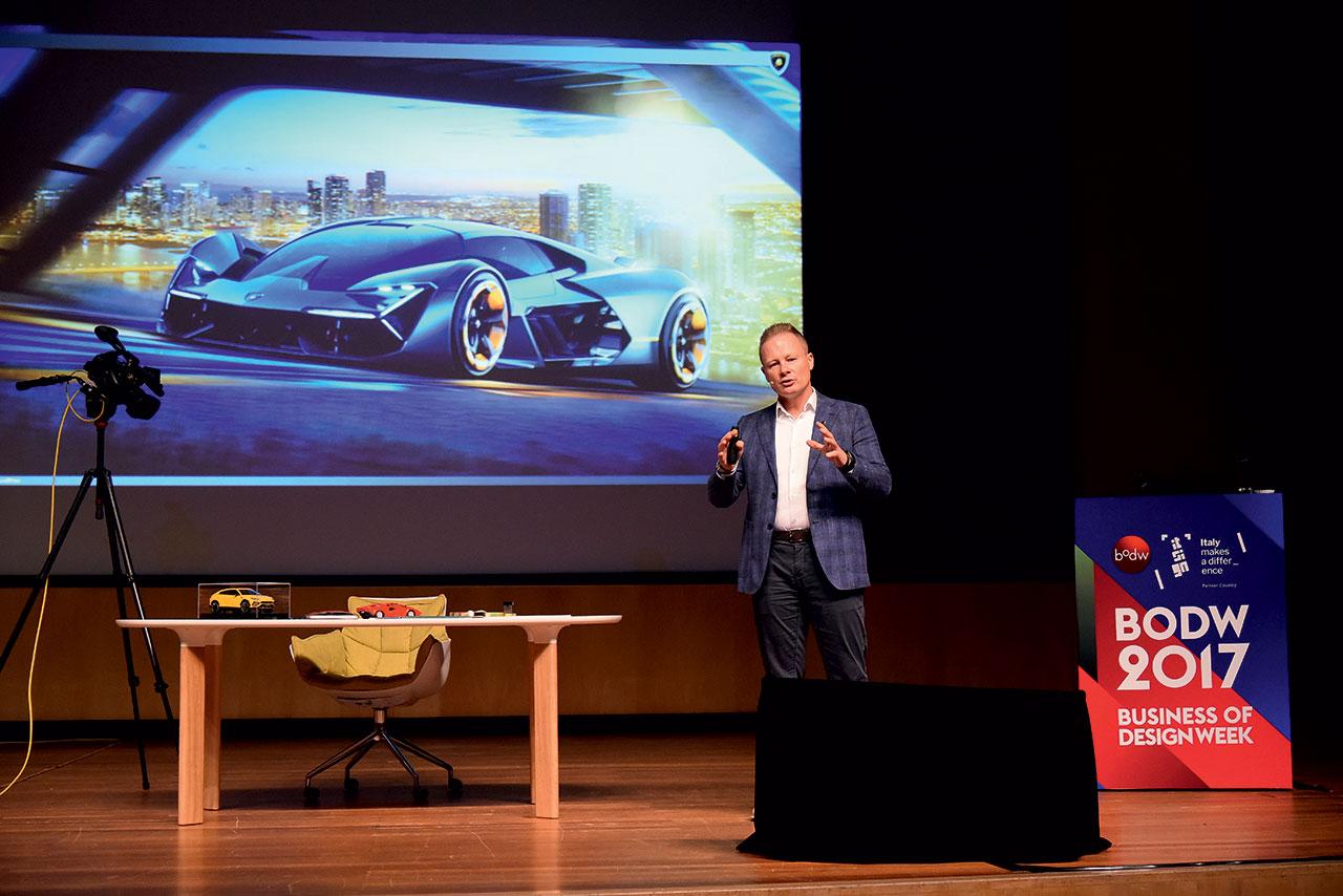 Mitja Borkert獲邀出席今屆BODW論壇,分享汽車設計的經驗。