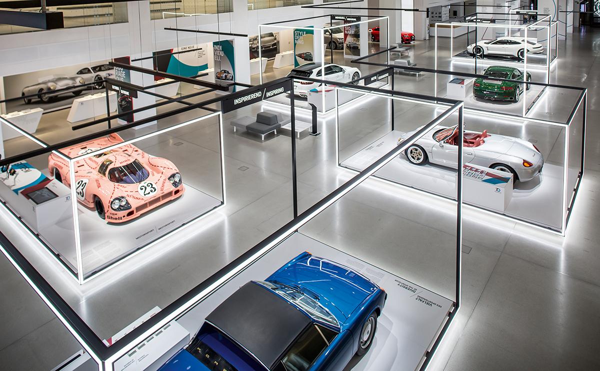 於去年在德國Porsche Museum舉行的創立70週年回顧展。