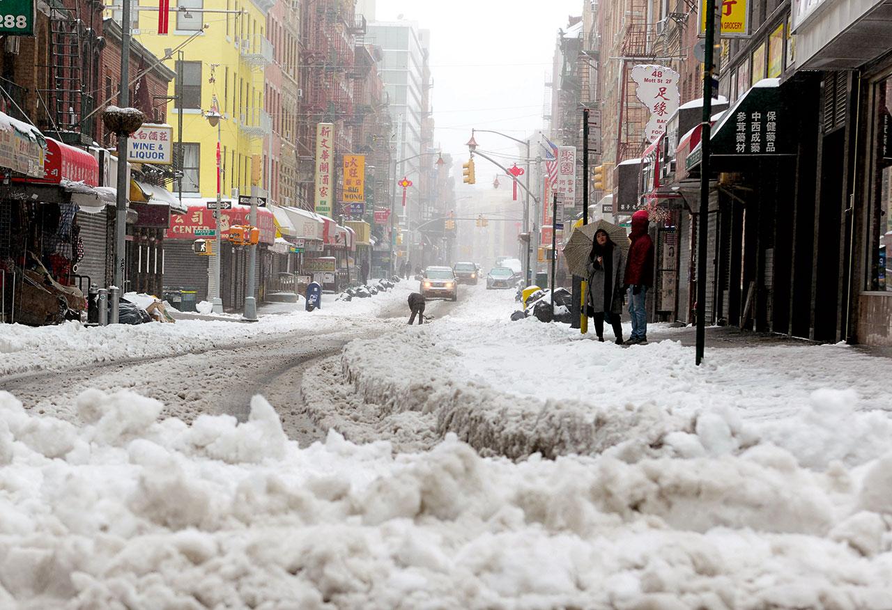 惡劣天氣嚴重影響無人駕駛。