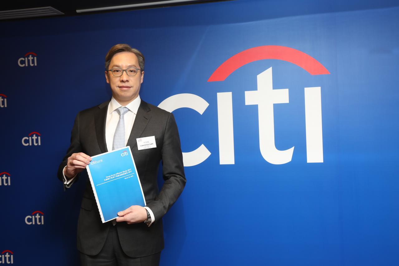 香港花旗銀行零售銀行業務主管林智剛指,本港擁有流動資產1000萬元以上的千萬富翁人數達6.8萬人,同比多出15%。