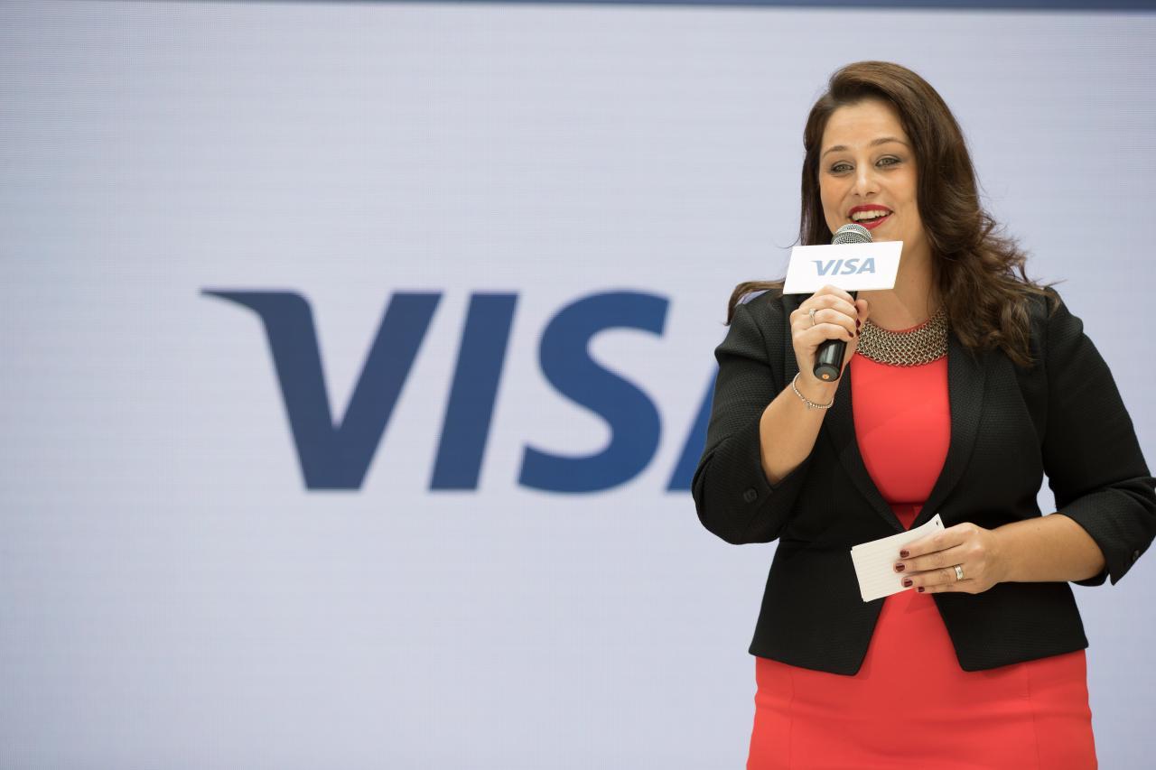 Visa香港及澳門地區總經理戴嘉倩表示,公司夥拍滴滴推新一輪推廣活動。(資料圖片)