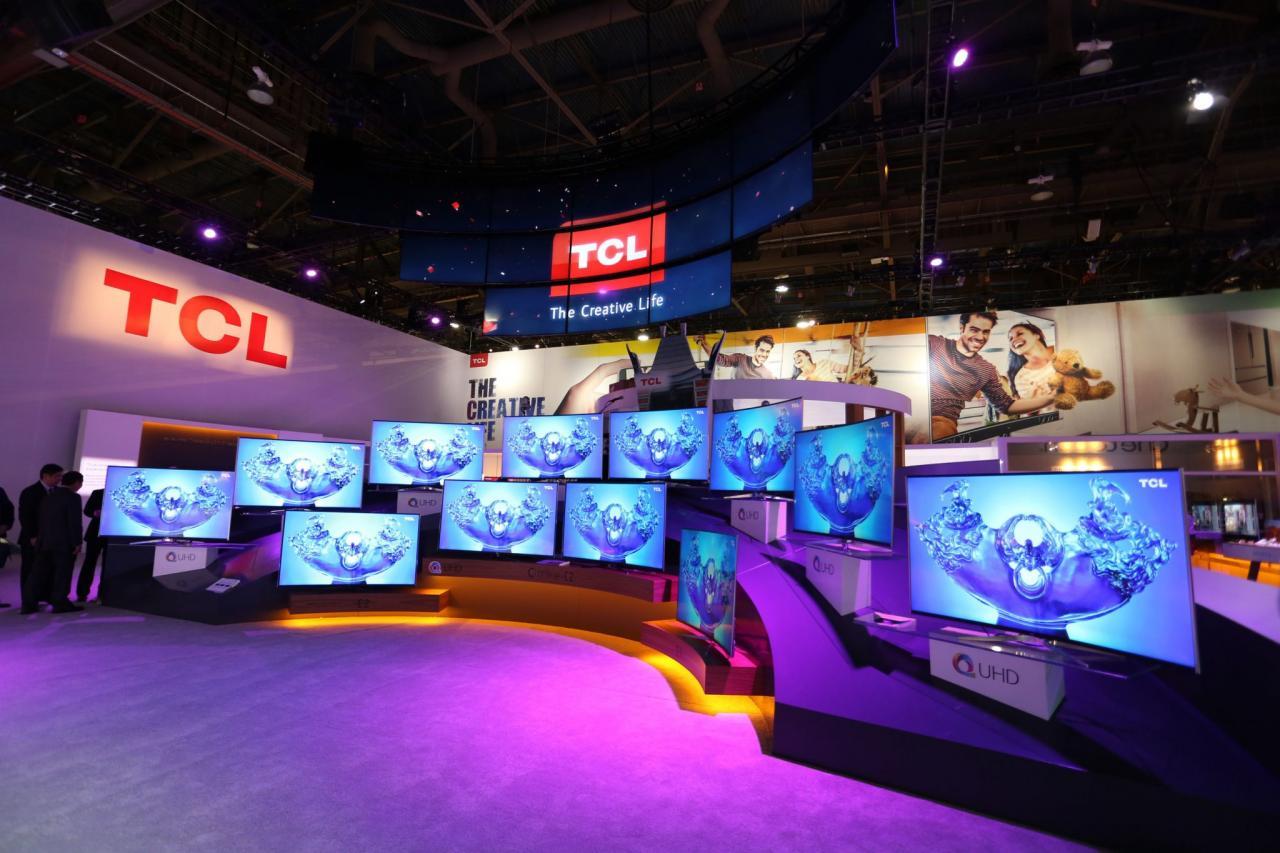 TCL(1070)是中國黑電三大龍頭之一。