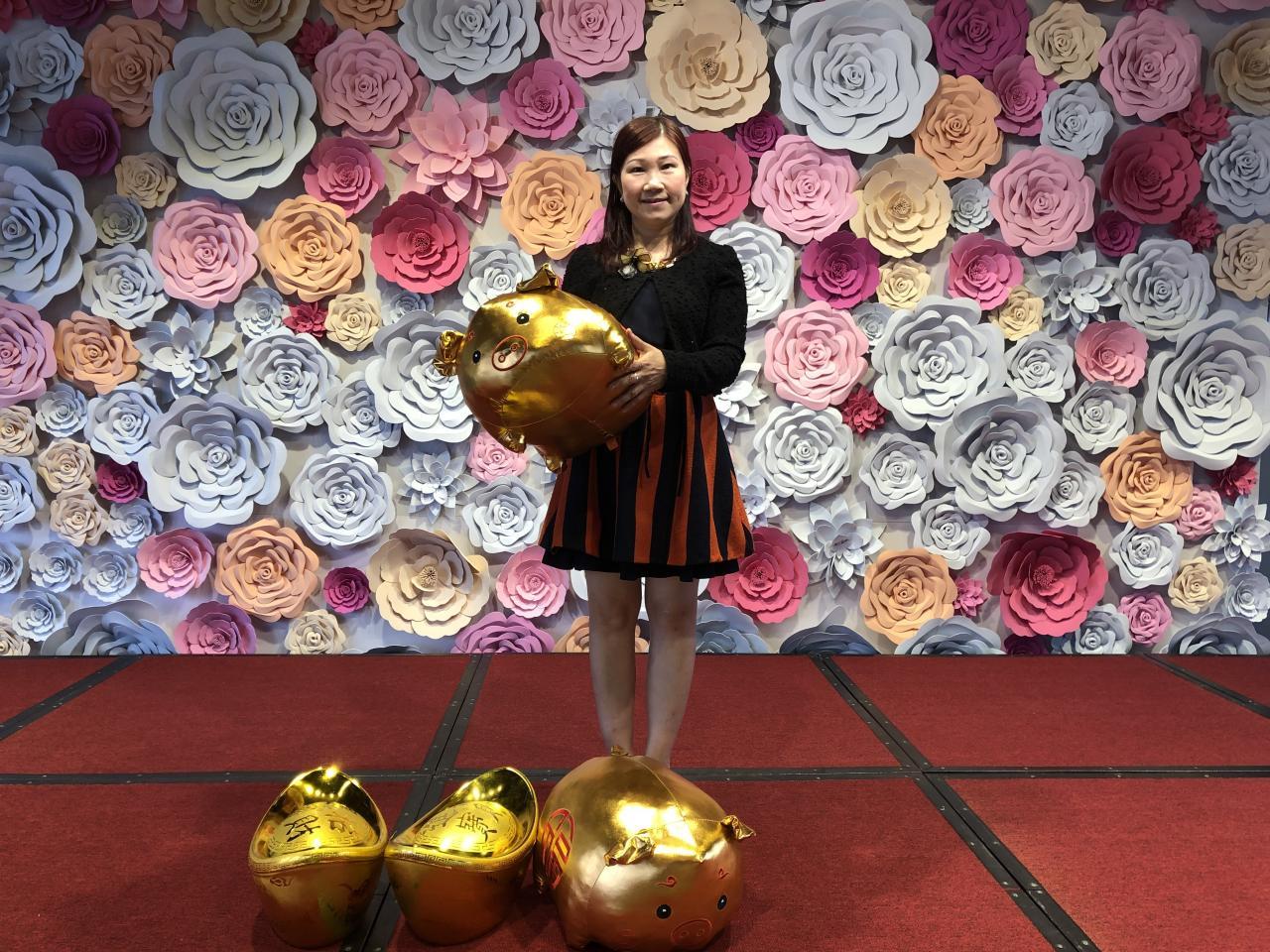 華懋集團銷售部高級銷售及市場經理陳慕蘭