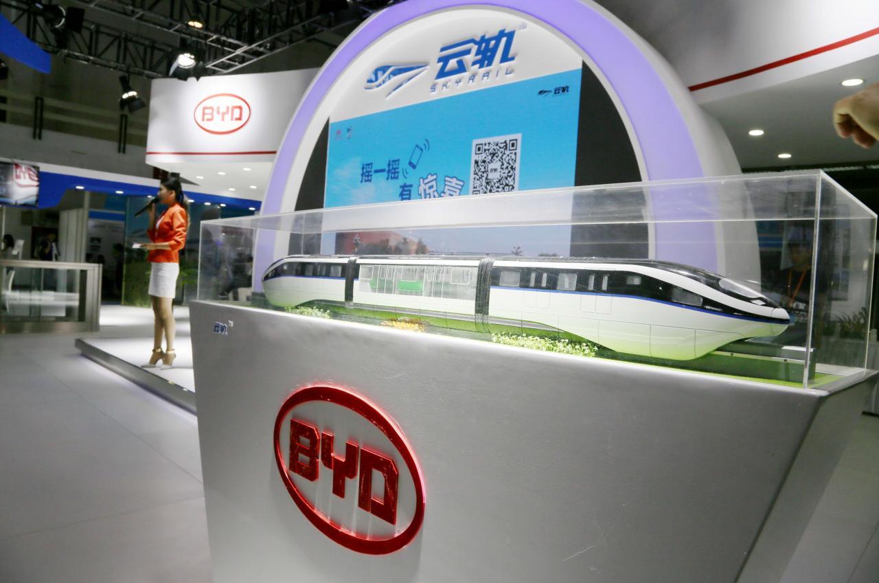 中國政府過去一向對電動車廠如比亞迪有龐大的補貼。