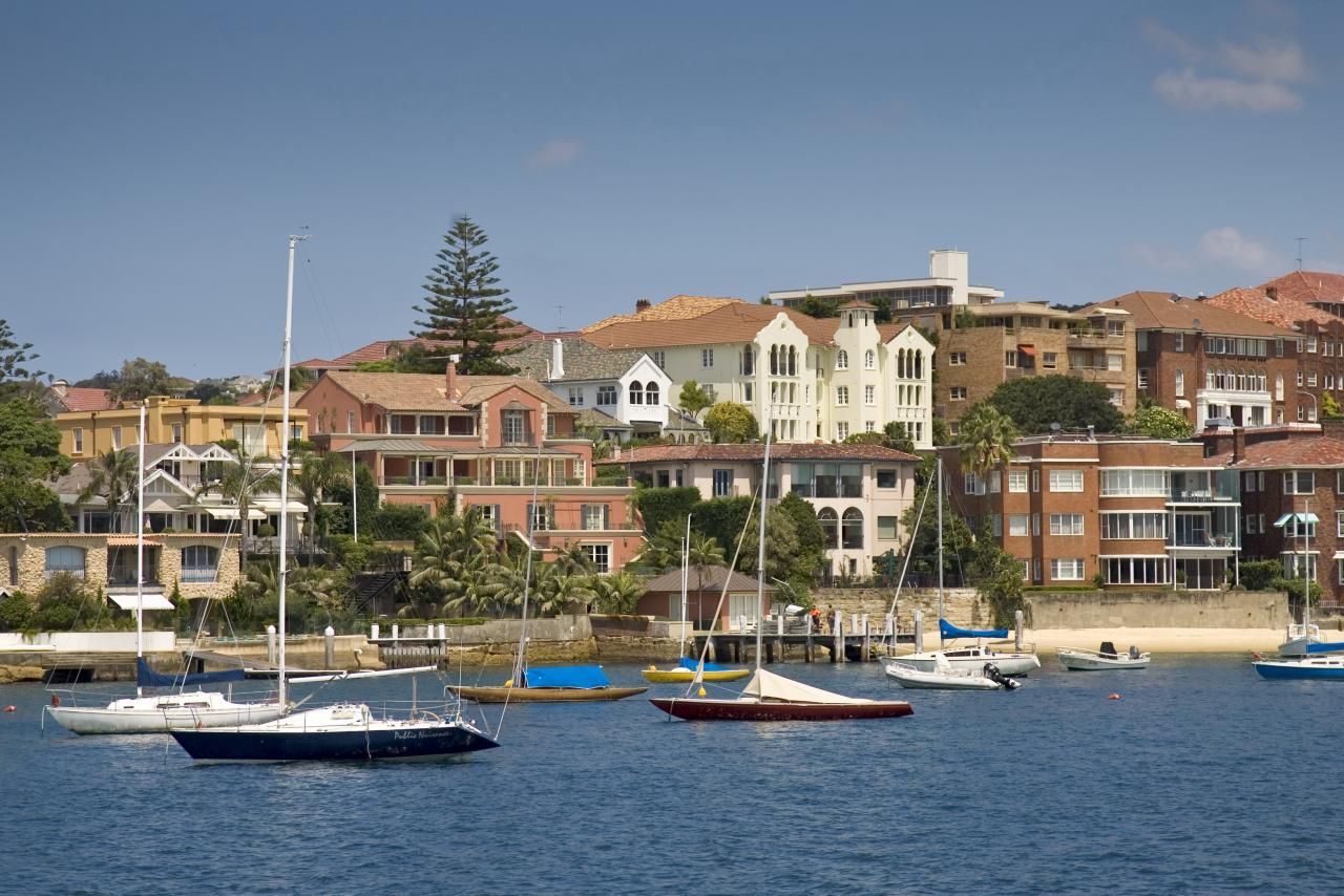 悉尼豪宅市場逆市向好,過去12個月錄得5.7%的升幅。