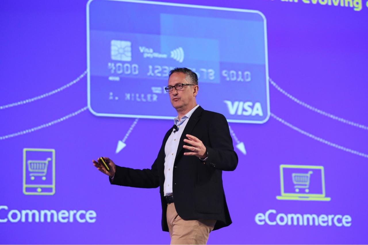 Visa亞太區總裁柯如龍期望能以Visa的網絡支援金融科技公司的解決方案。