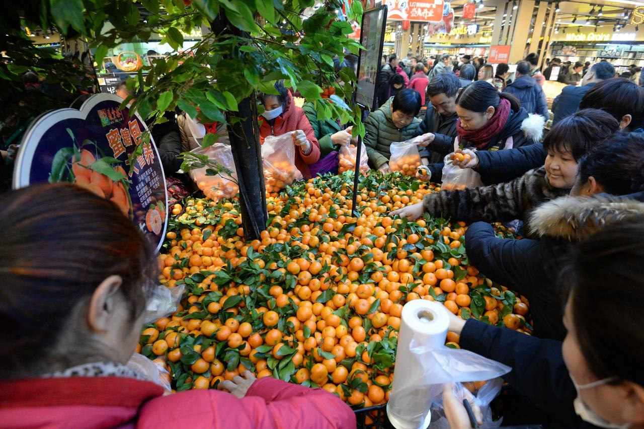 中國人過農曆新年,消費意欲特別高漲。