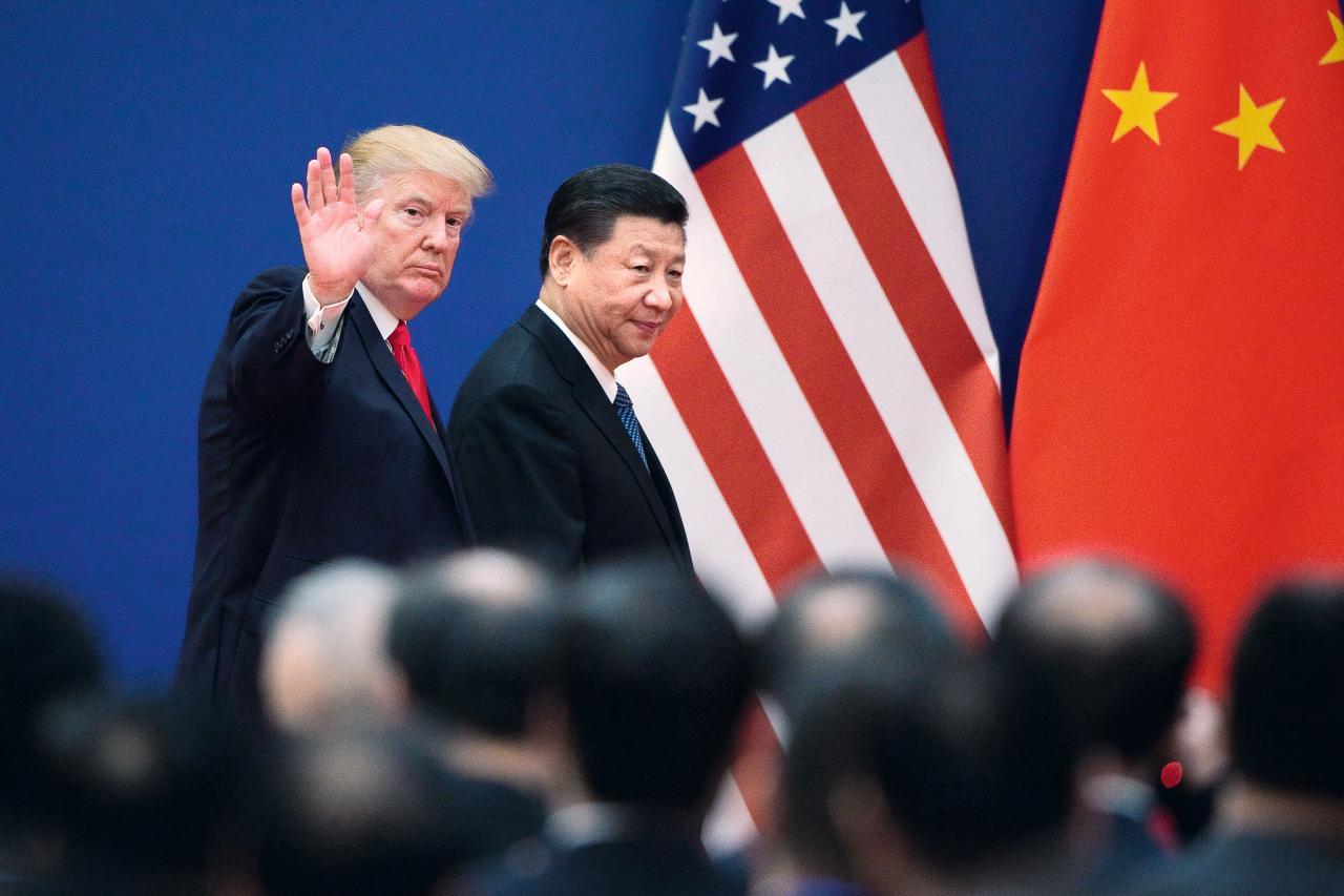 特朗普與習近平正積極尋求解決貿易問題的方法。