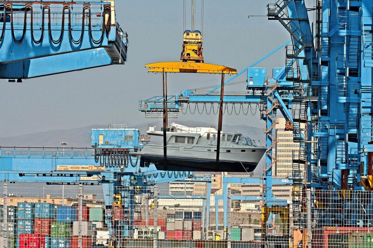 在貿易戰下,出口相關行業首當其衝。