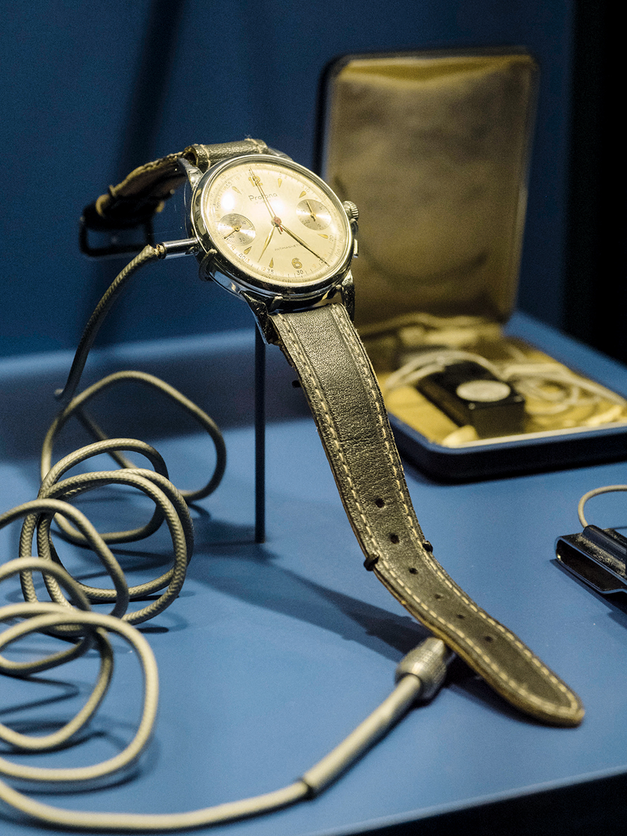 有竊錄功能的手錶,昔日在特工界很常用。