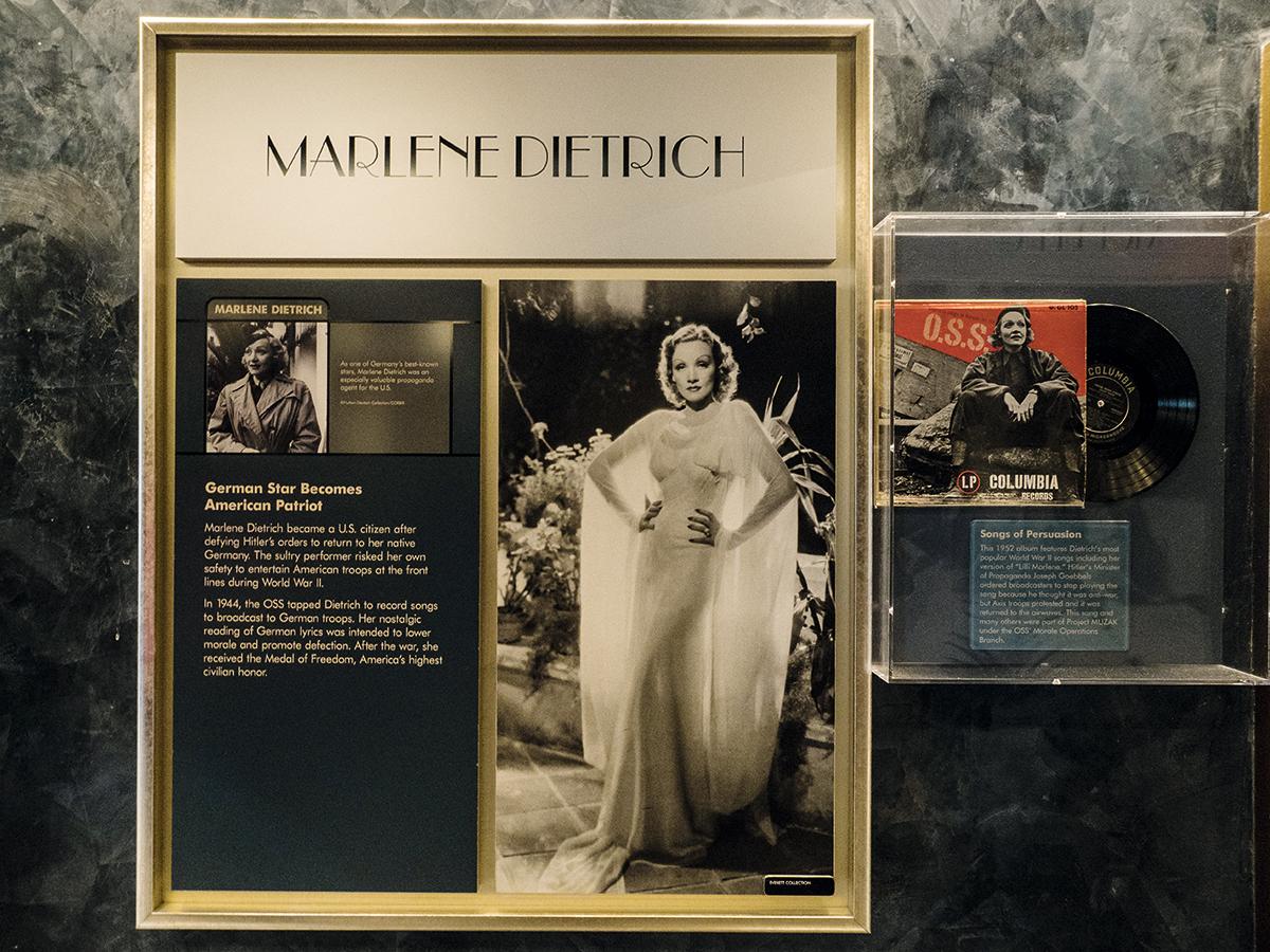 上世紀亦有一些的名人如女演員瑪琳·黛德麗,亦有被涉牽涉在情報機構中。