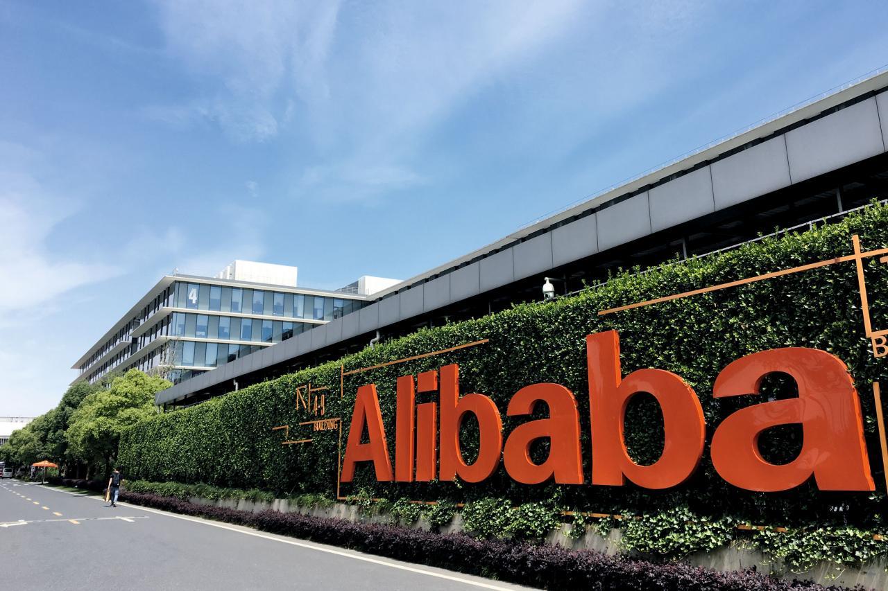 自傳出馬雲引退消息,阿里巴巴市值不斷蒸發。