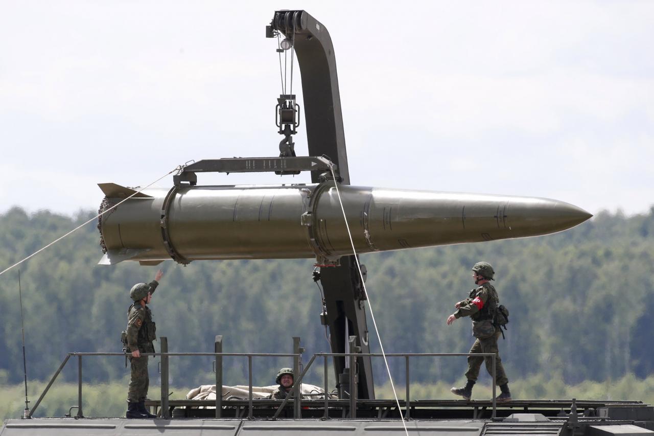 美國指控俄羅斯在西部邊境部署的伊斯坎德爾——M型導彈,違反條約。