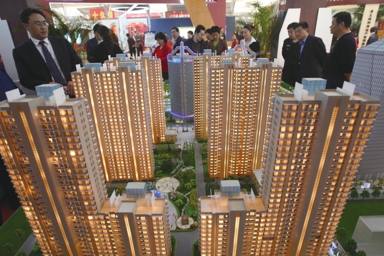 內地樓市在不同地區展現出非常分化的情況,而且相當視乎集團是否能把握機會於低價時成功投地。