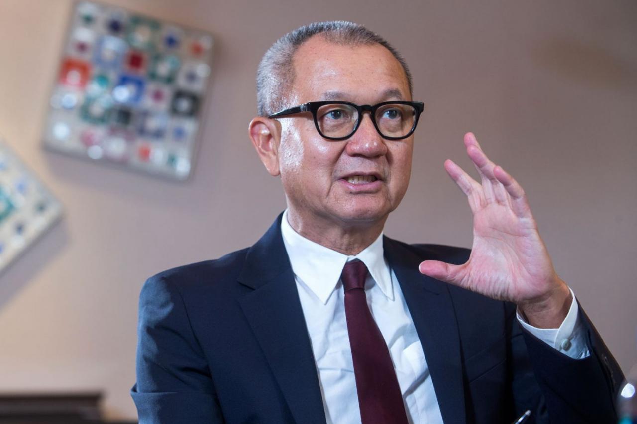 國巨董事長陳泰銘近日購入其第7間位於松山區的「文華苑」單位。