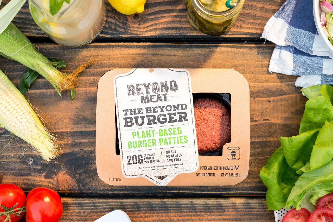 史上第一家植物肉製造商Beyond Meat(BYND)於5月2日在美國上市,首日升幅就達到163%。