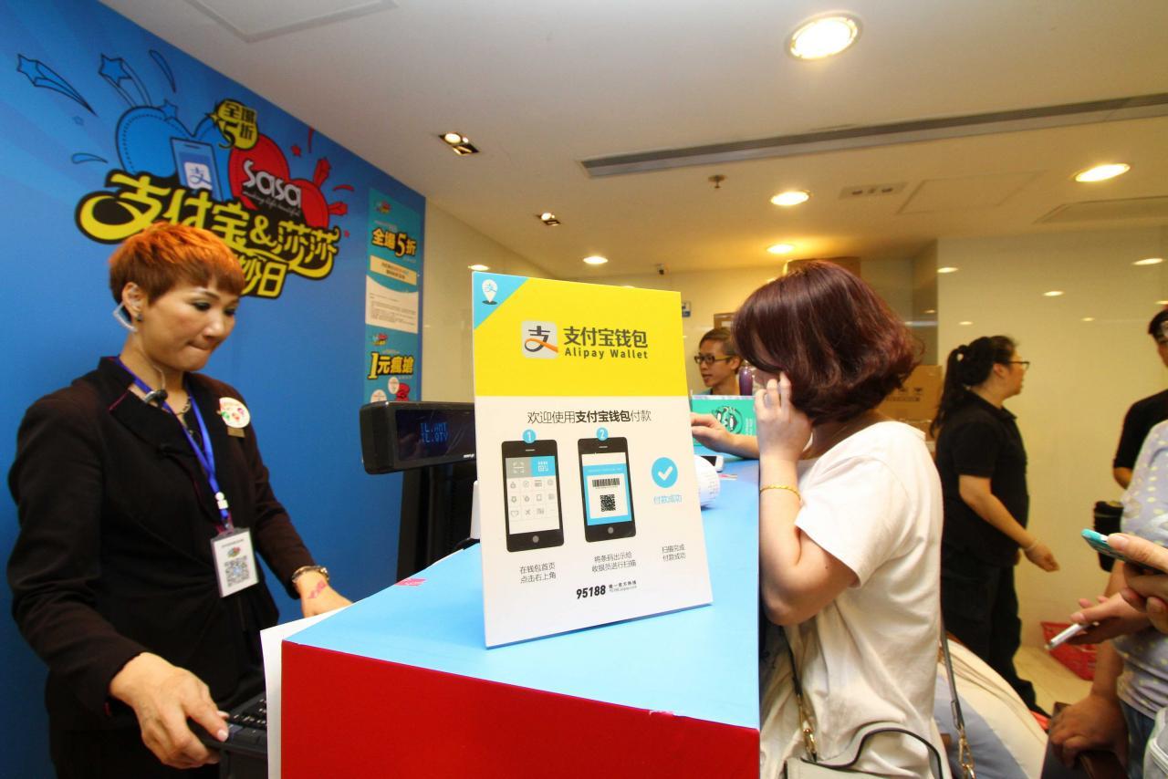 香港在發展電子交易上的確較中國發展得慢。