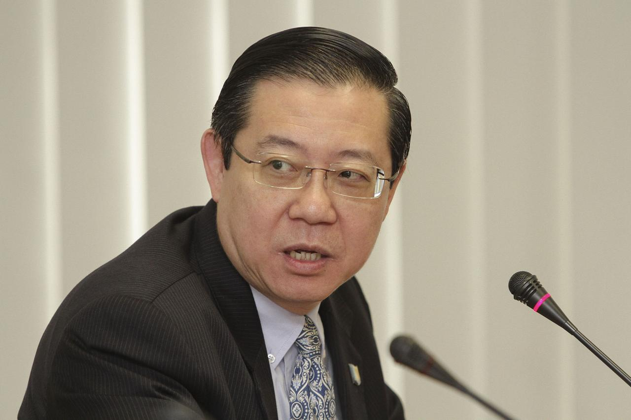 檳城州華人首席部長林冠英。