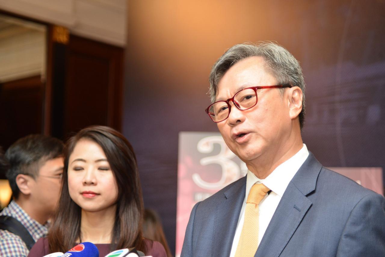 趙國雄稱,西半山21 BORRETT ROAD第1期已獲批預售,計畫3月底推售。